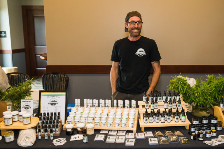 Vermont Hemp Fest at Burke Mountain Hotel and Conference Center, Saturday, September 7, 2019. Photo by Tim Stowe for Heady Vermont